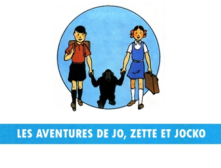 les aventures de jo, zette et jocko logo